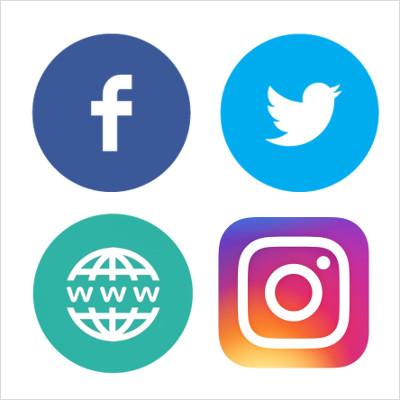 Serveis: presència xarxes socials